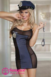 Еротичен костюм Секси полицайка