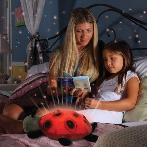 Музикална нощна лампа калинка - Звездно небе