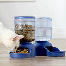 Диспенсър за вода и храна за кучета