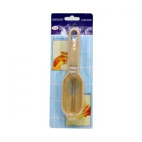 Супер практичен уред за чистене на люспи на риба