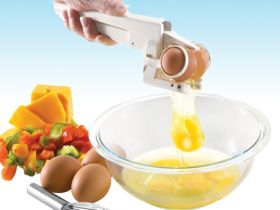 EZ CRACKER - най-яката машинка за чупене на яйца без остатъци от черупки!