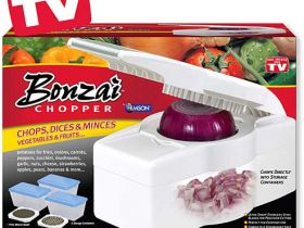 Bonzai chopper - ренде с приставки и купи за съхранение