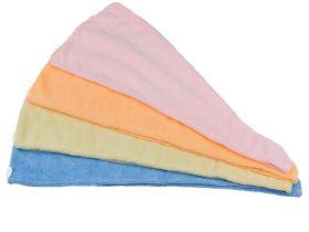Микрофибърна кърпа за коса - абсорбира 7 пъти повече вода