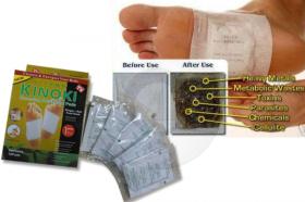 Пречистете тялото си от вредните токсини с пластири за детоксикация KINOKI