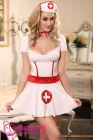 Еротичен костюм Sexy Doctor in white
