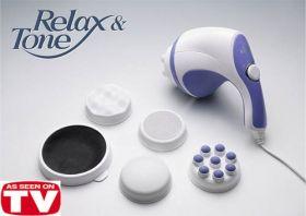 Антицелулитен масажор Relax and Tone с 5 приставки