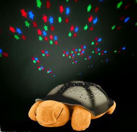 Вълшебна Лампа Костенурка за Вашето Дете с успокояващи мелодии