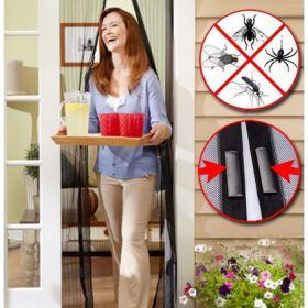 Без мухи и комари! Магнитна мрежа против насекоми Magic Mesh