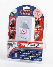Ултразвуков унищожител за насекоми и гризачи от ново поколение Pest reject