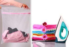 Торби за разделно пране на дрехи - 3 бр.