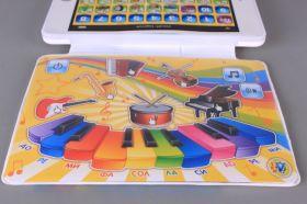 Образователен и Музикален Таблет-Пиано на Български с Два Екрана