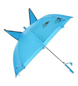 3D чадър с ушички и муцунка и аксесоар свирка