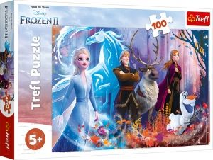 Пъзел Magic of the Ice Land - Frozen 2